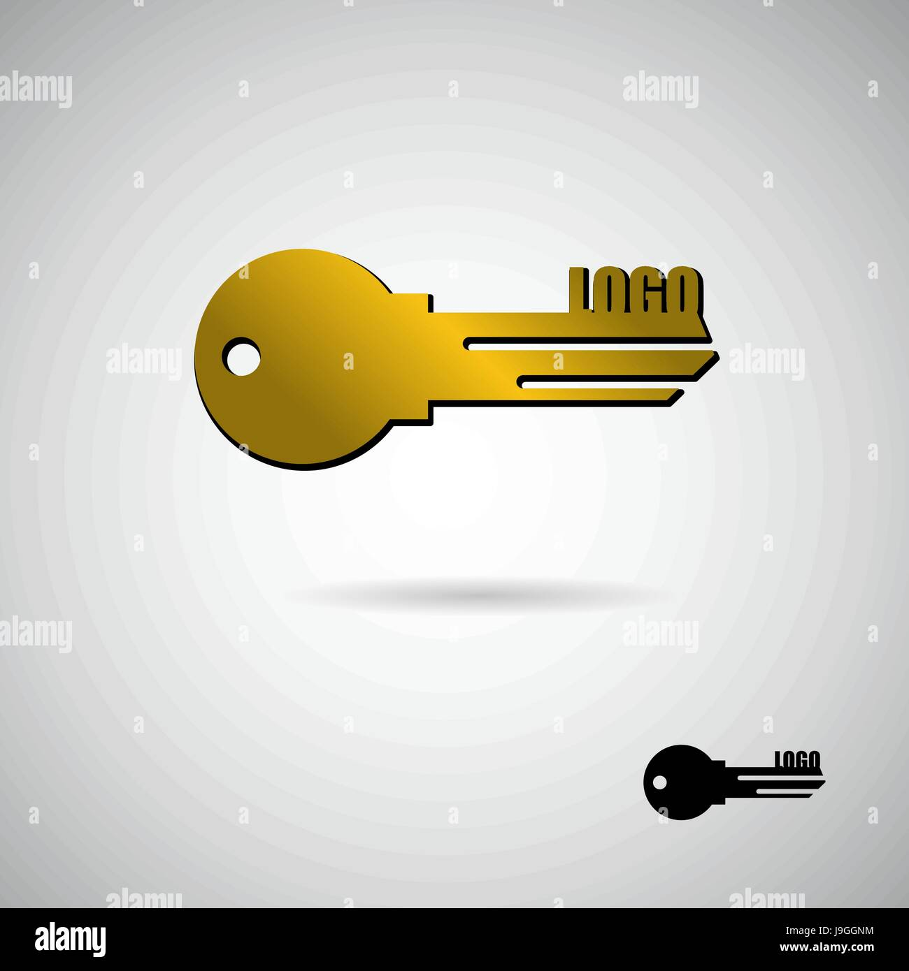Key to apartment logo symbol for construction and real estate symbol for construction and real estate company golden apartment key buycottarizona Image collections