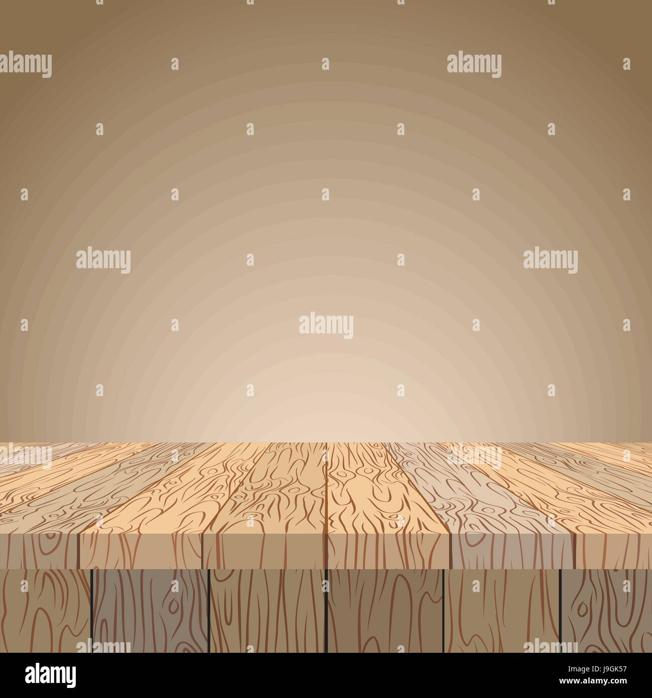 Wooden table Wooden surface Wood texture Planks of wood in Stock