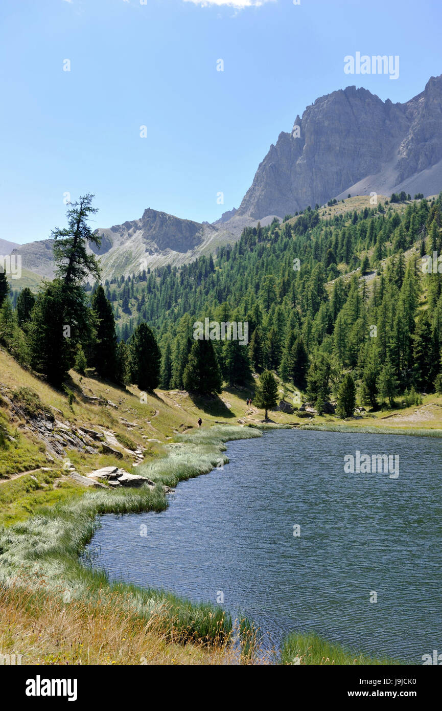 France hautes alpes near ceillac lac miroir 2214 m for Lac miroir queyras