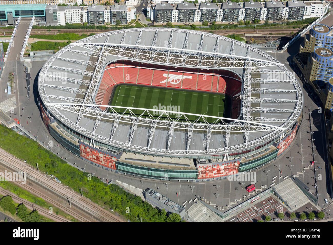 The Emirates Stadium In Highbury London England And Home Of