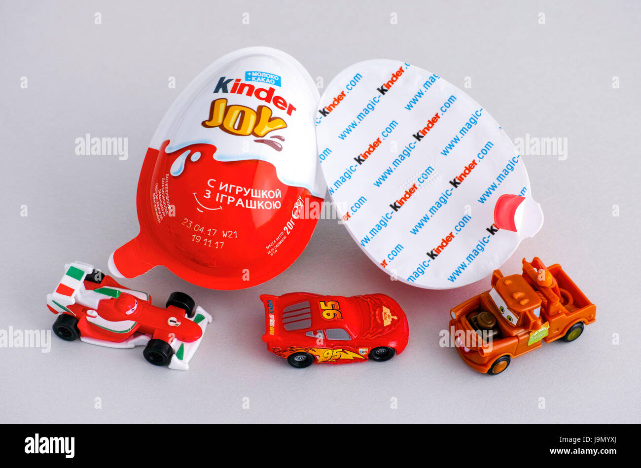 Kinder Eggs Cars