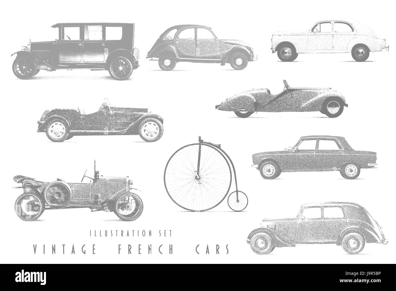 Wonderful Line Drawings Of Cars Photos - Electrical System Block ...