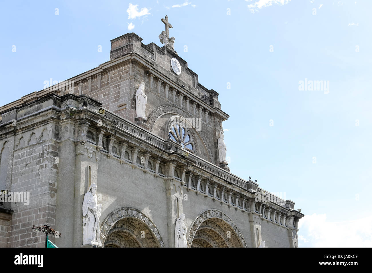 Famous Architecture Buildings In The Philippines manila cathedral in intramuros, philippines - famous landmark