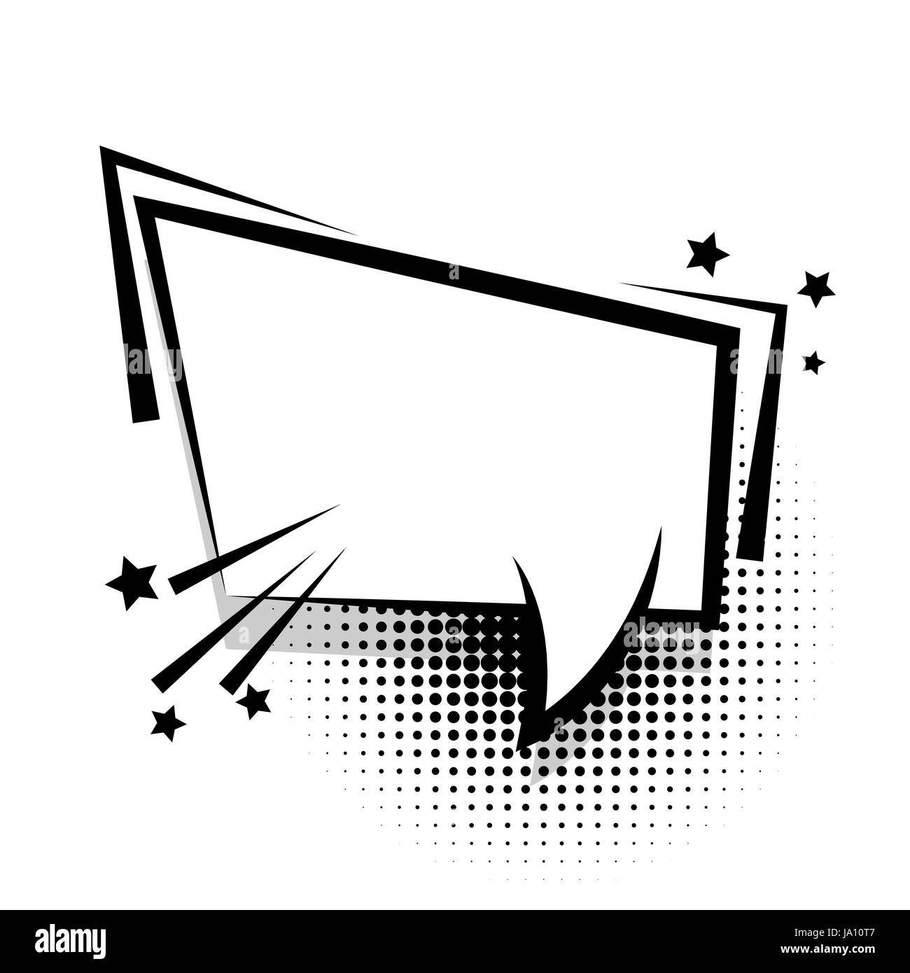 Square empty white comic book text balloon pop art bubble icon square empty white comic book text balloon pop art bubble icon speech phrase cartoon funny label tag expression sound boom explosion effects adver buycottarizona Gallery