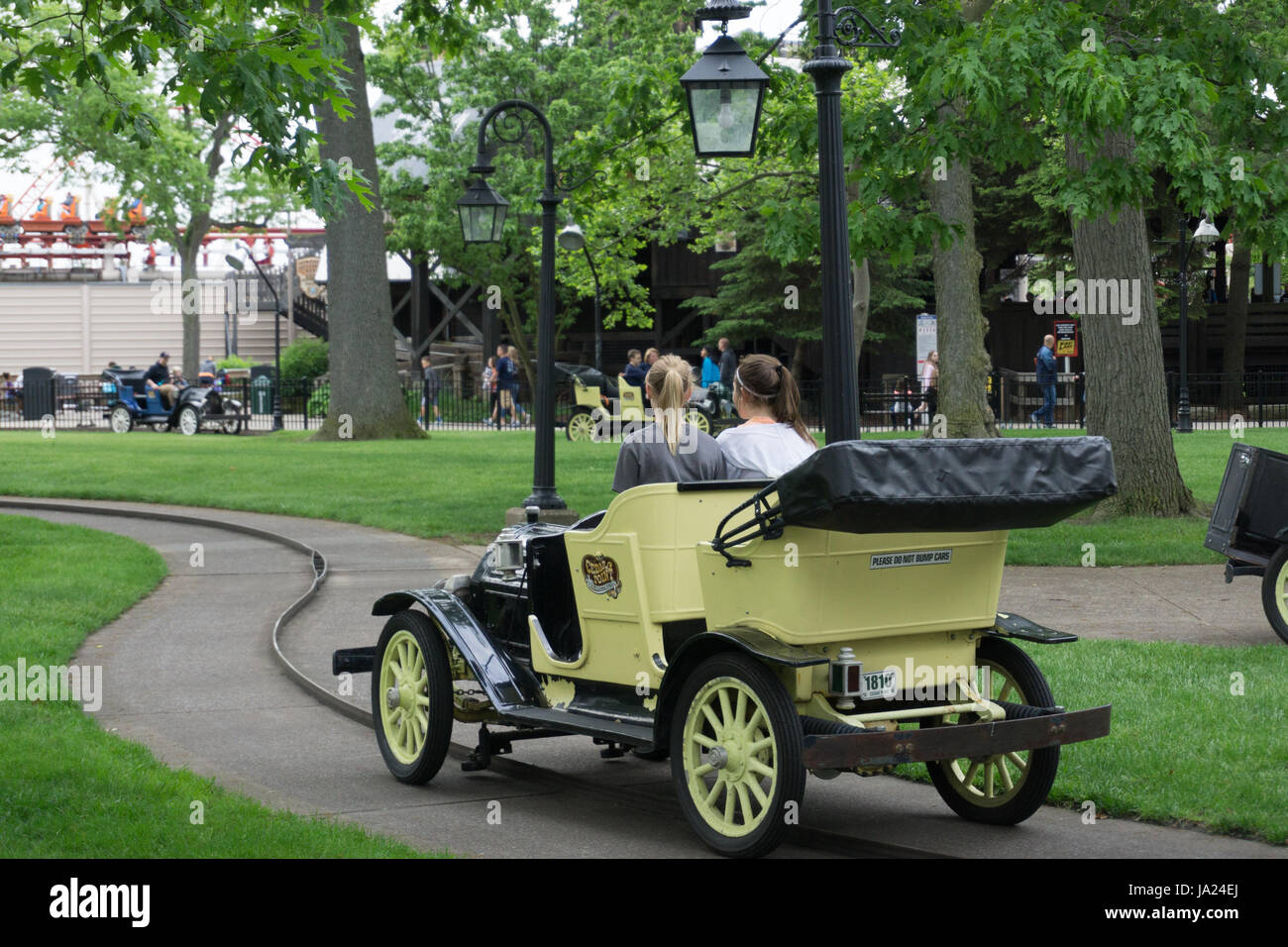 Old Time Car Ride Stock Photo: 143876954 - Alamy