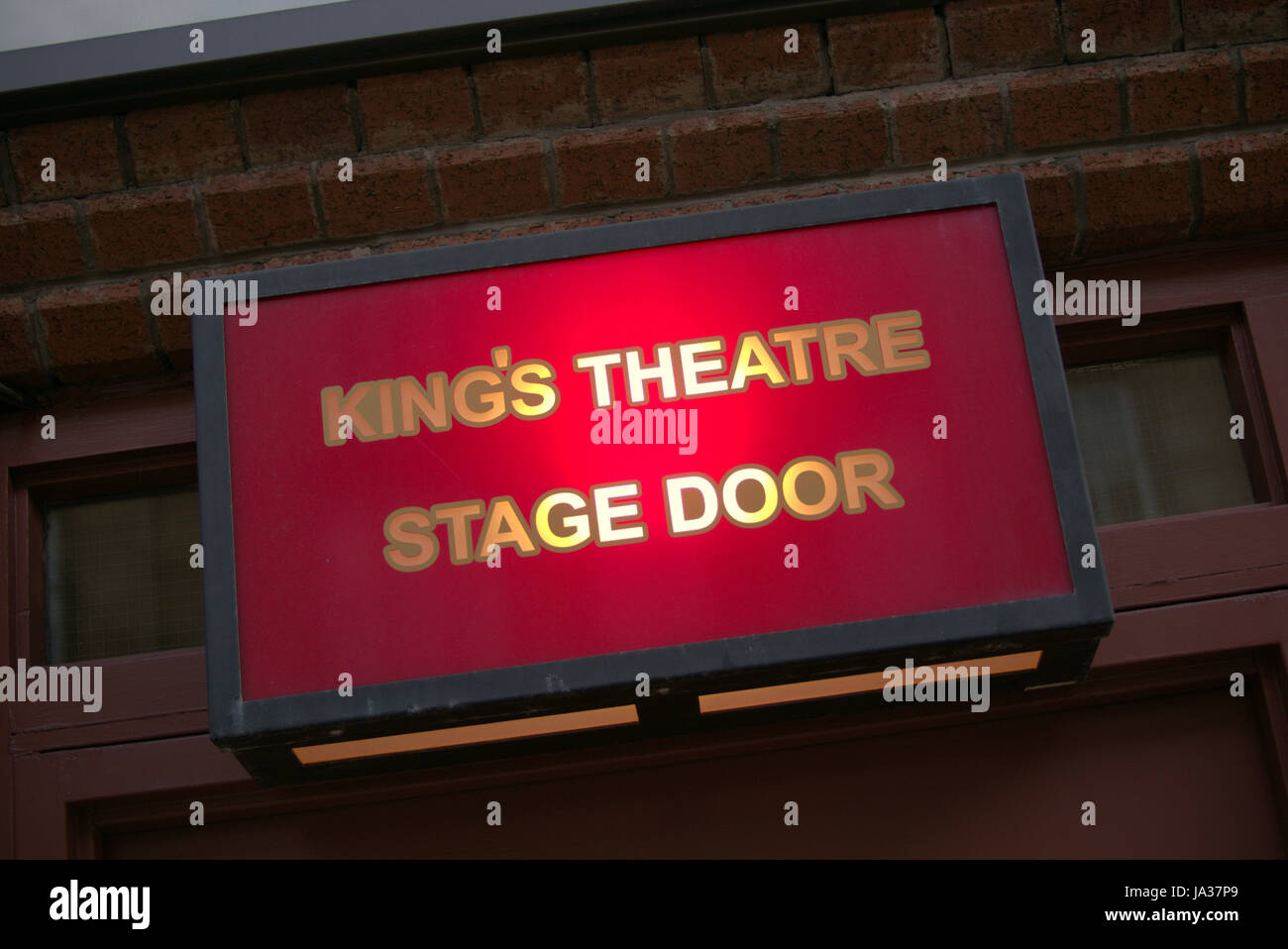 King\u0027s Theatre Glasgow stage door sign and light : door kings - Pezcame.Com