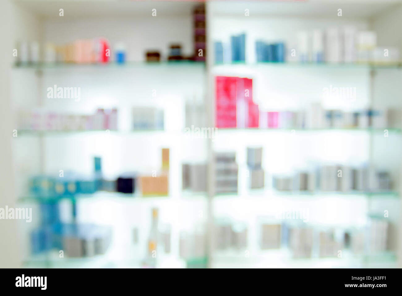 blurry medicine cabinet and store medicine and pharmacy drugstore ...