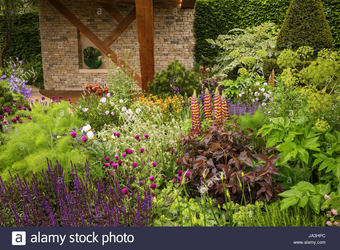The morgan stanley garden at the rhs chelsea flower show Winner chelsea flower show 2017
