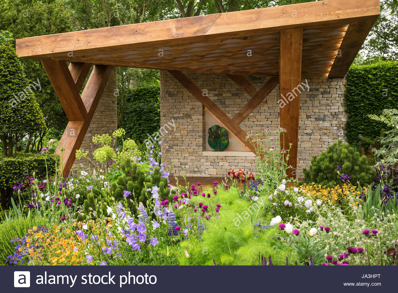 the morgan stanley garden at the rhs chelsea flower show 2017