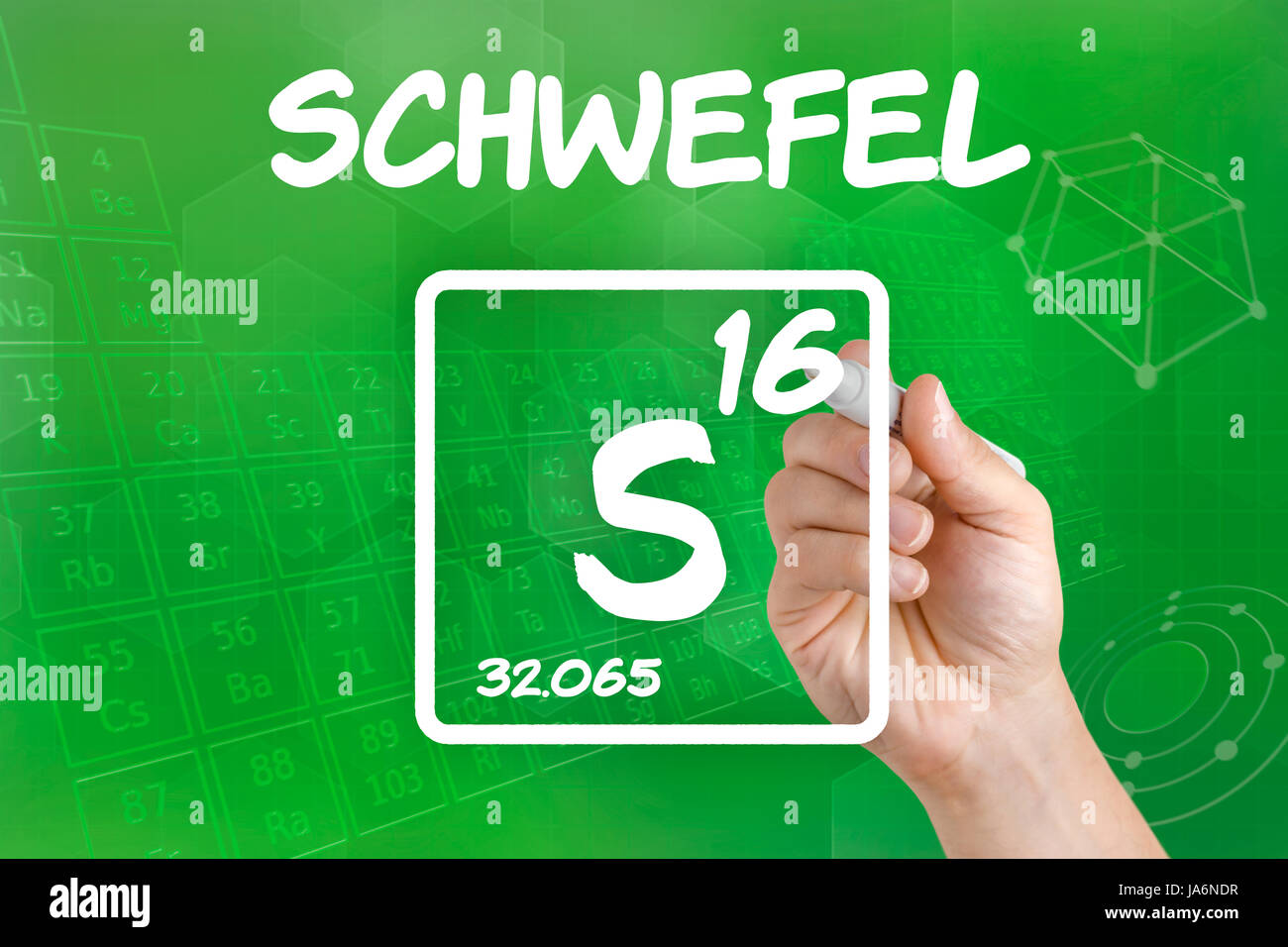 Symbol of the chemical element sulfur stock photo 143978067 alamy symbol of the chemical element sulfur buycottarizona Image collections