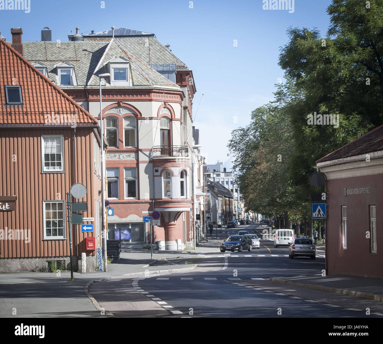 august 3 2017 trondheim trondelag norway homes and
