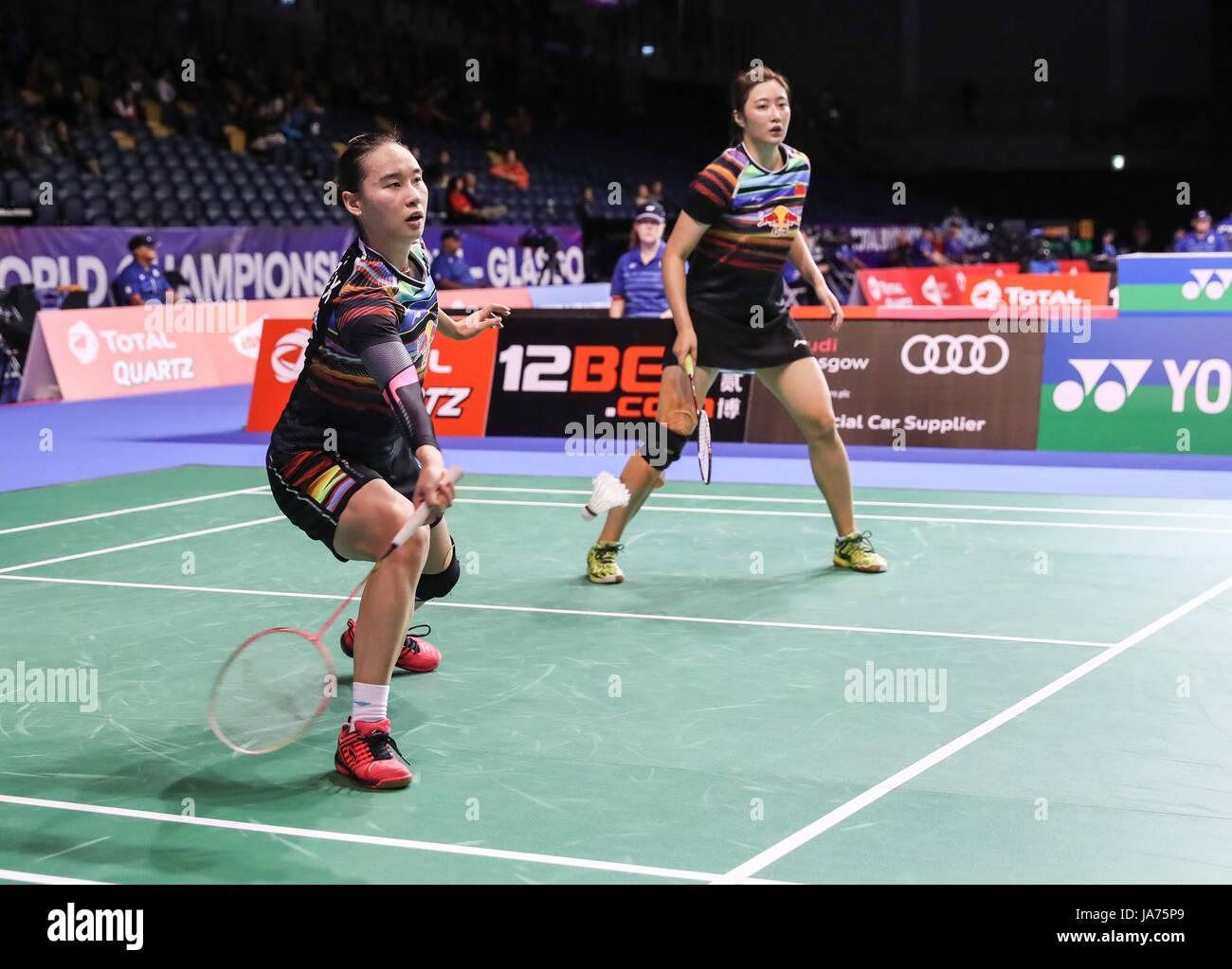 GLASGOW Aug 25 2017 Xinhua Bao Yixin L and Yu