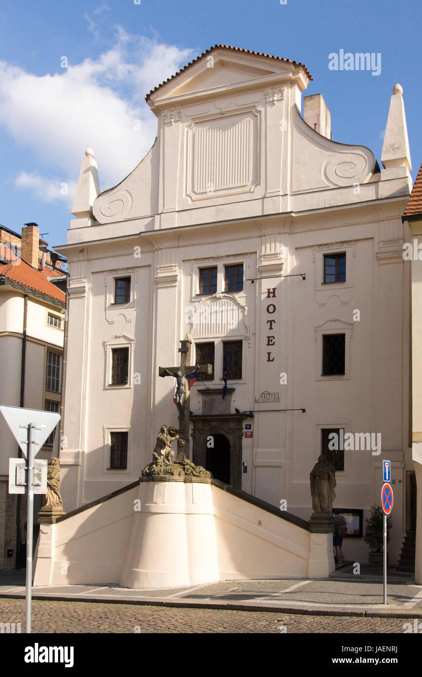 A Boutique Hotel Hotel Questenberg A Boutique Hotel Near Prague Castape Stock Photo