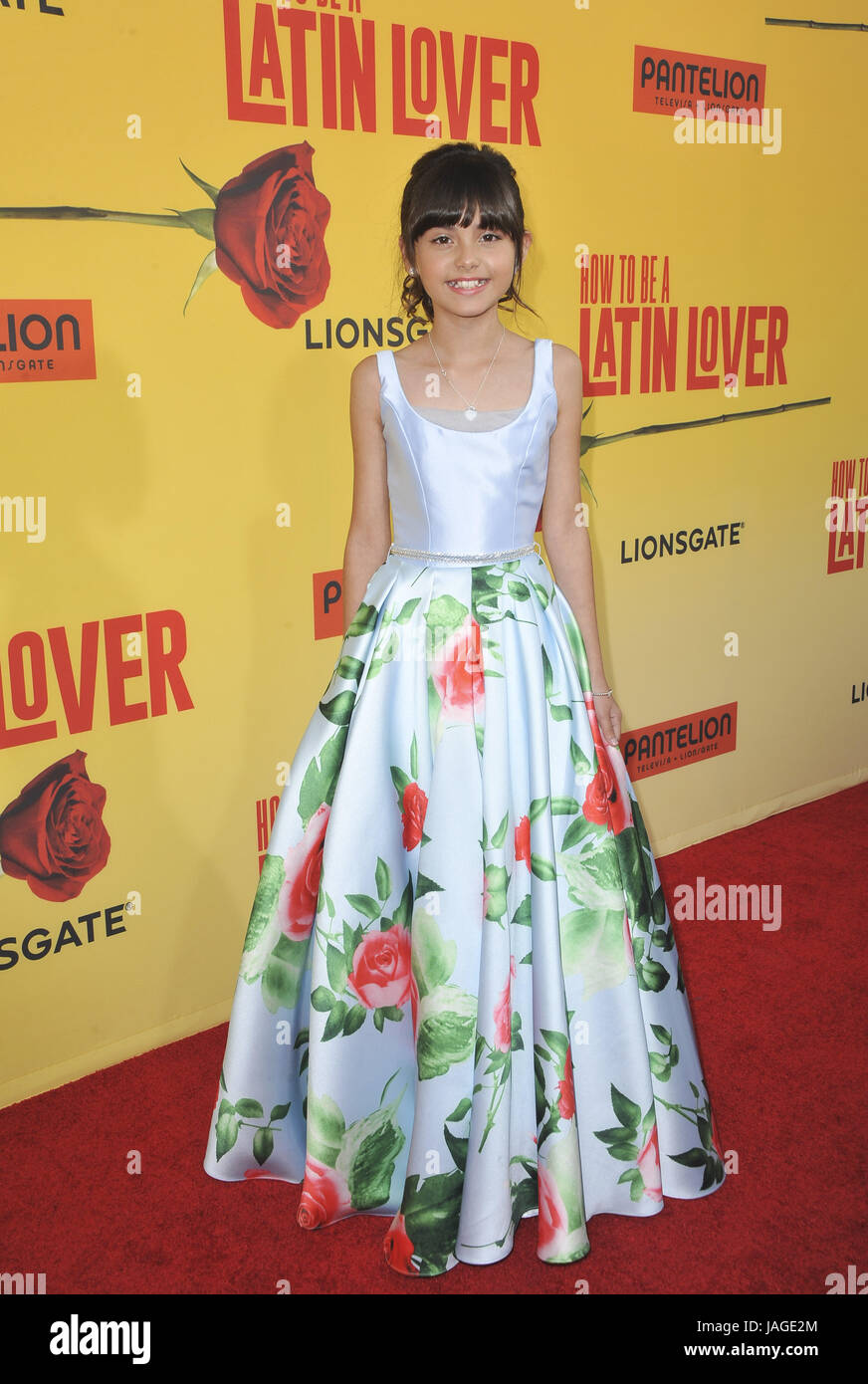 Premiere Of 'how To Be A Latin Lover' Arrivals Featuring: Manelly Zepeda  Where