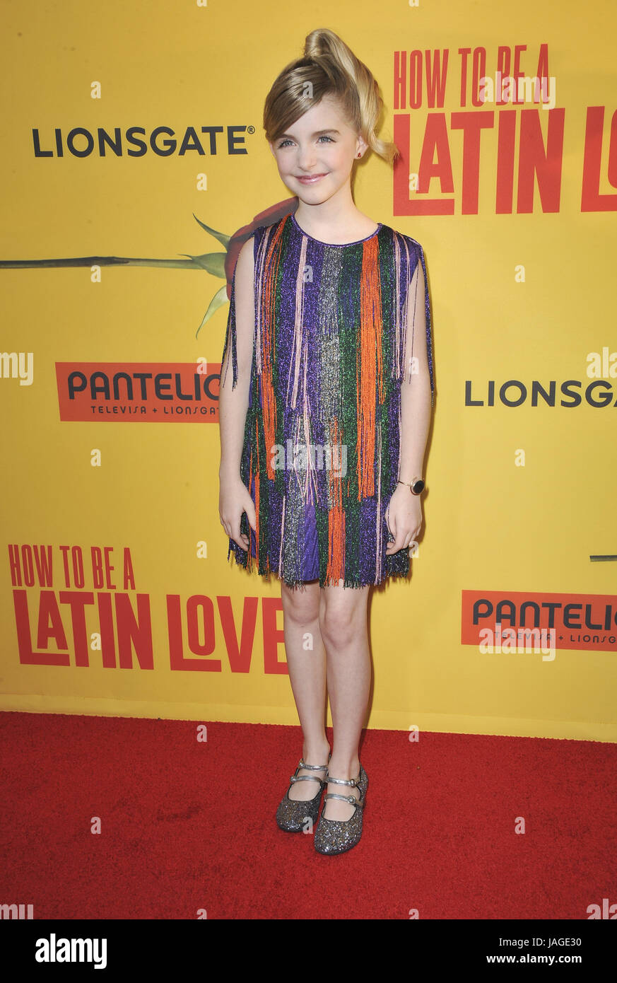 Premiere Of 'how To Be A Latin Lover' Arrivals Featuring: Mckenna Grace  Where Howtobealatinlover Picture Number 15
