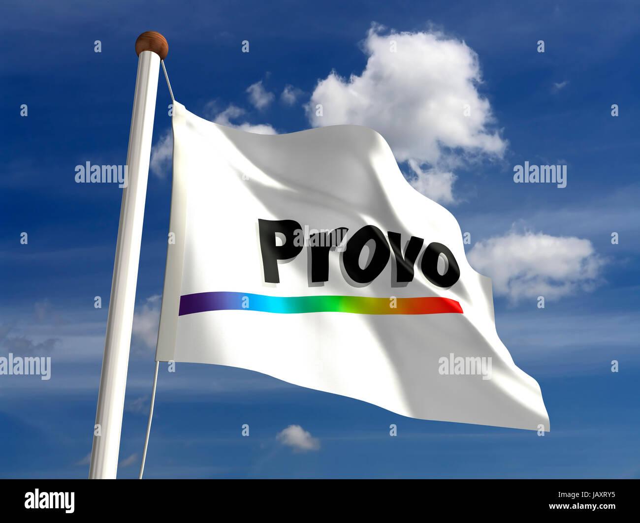 Provo-Style Flag of Reddit : vexillology