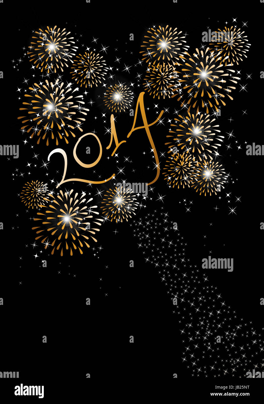 Happy new year 2014 holidays fireworks greeting card background happy new year 2014 holidays fireworks greeting card background eps10 illustration organized in layers for easy editing m4hsunfo