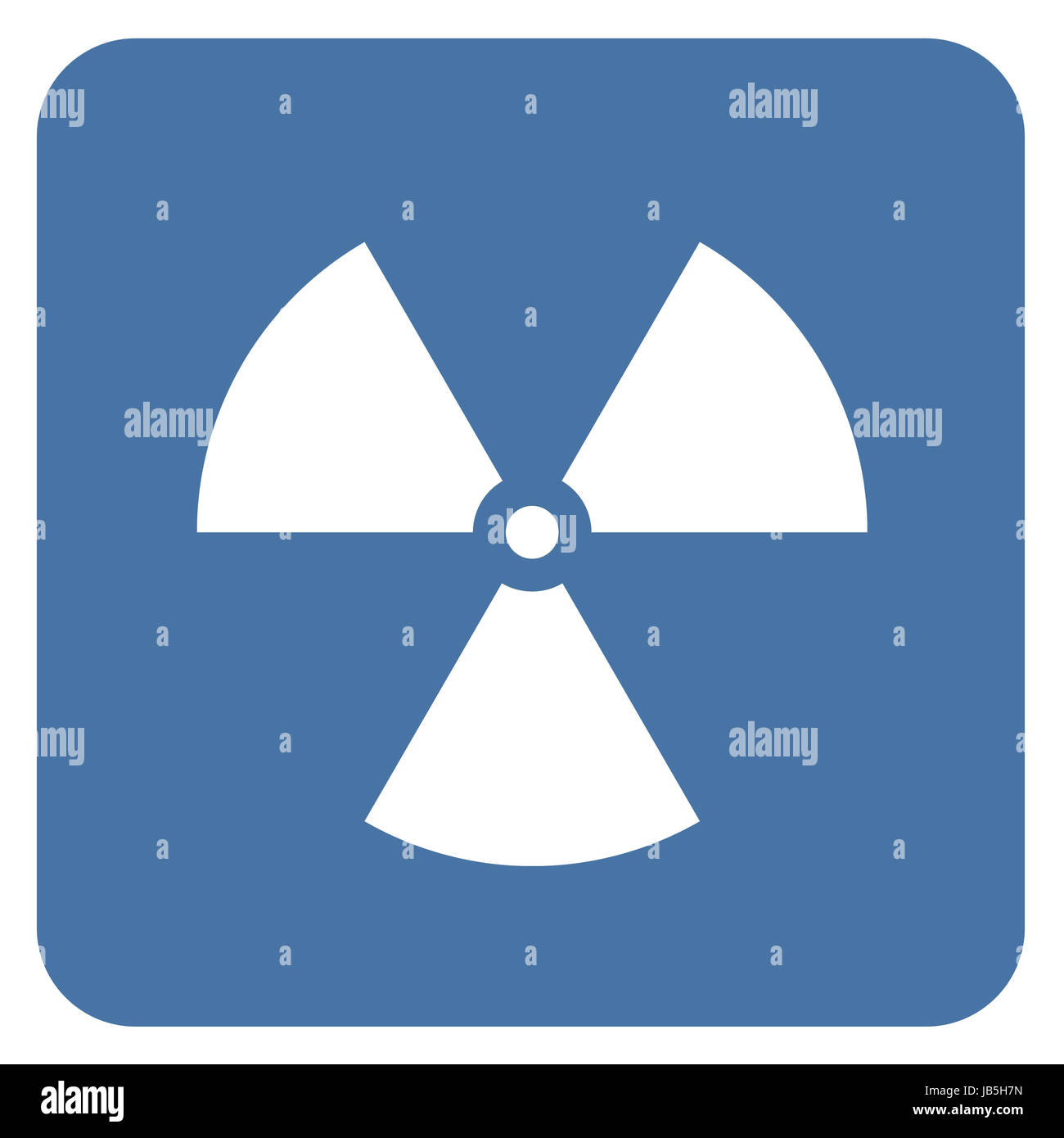 Nuclear radiation symbol on a blue background simple flat design nuclear radiation symbol on a blue background simple flat design biocorpaavc Image collections