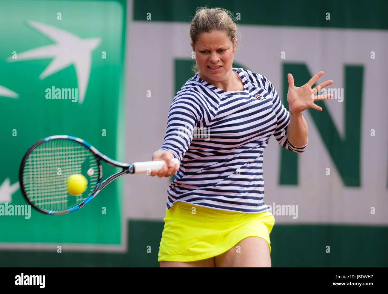 PARIS FRANCE JUNE 7 Kim Clijsters at the 2017 Roland Garros