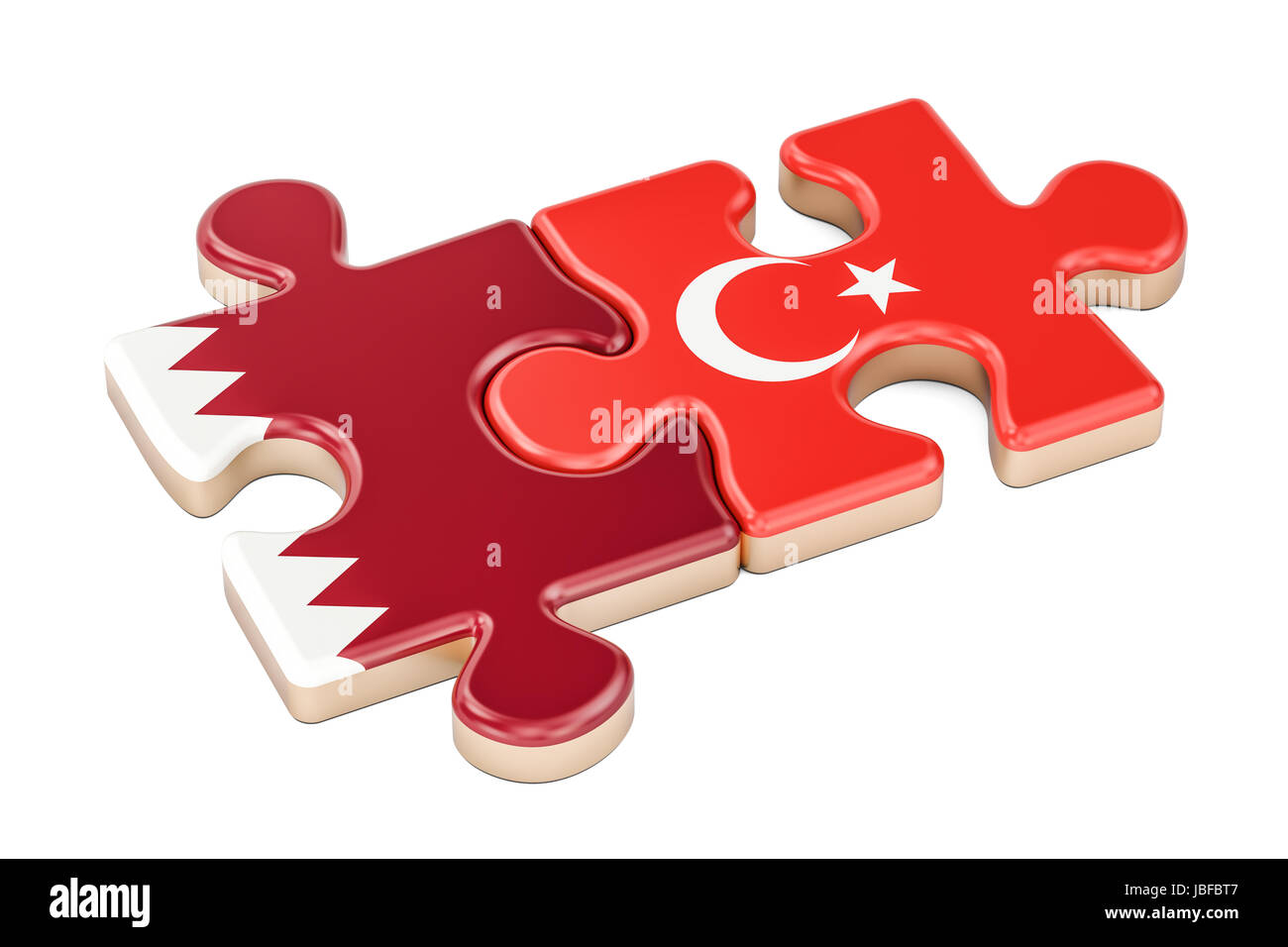 Uncategorized Turkey Puzzles qatar and turkey puzzles from flags 3d rendering isolated on white background