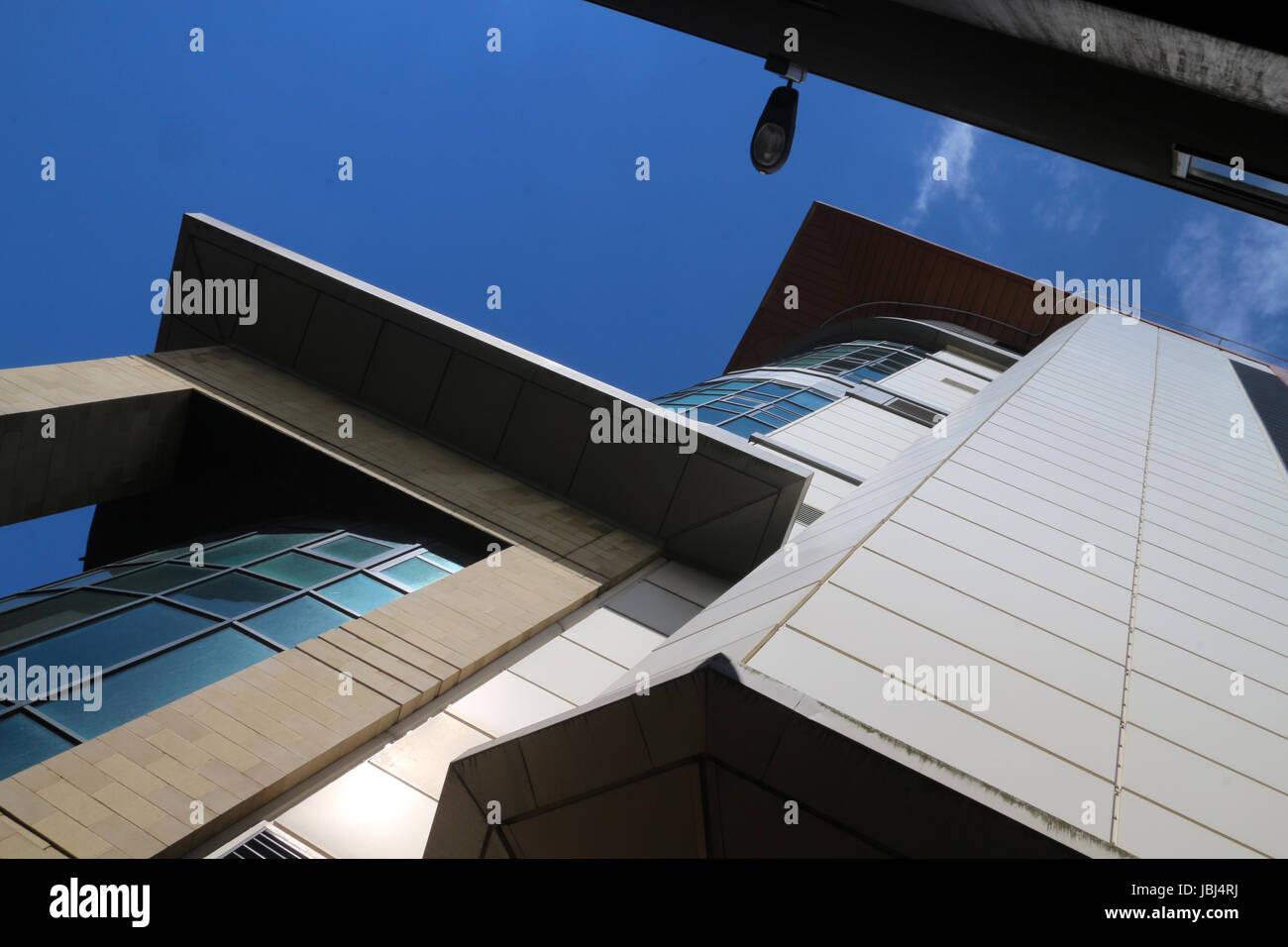 Modern building between renfrew street renfrew lane and renfield modern building between renfrew street renfrew lane and renfield street glasgow scotland uk sciox Image collections