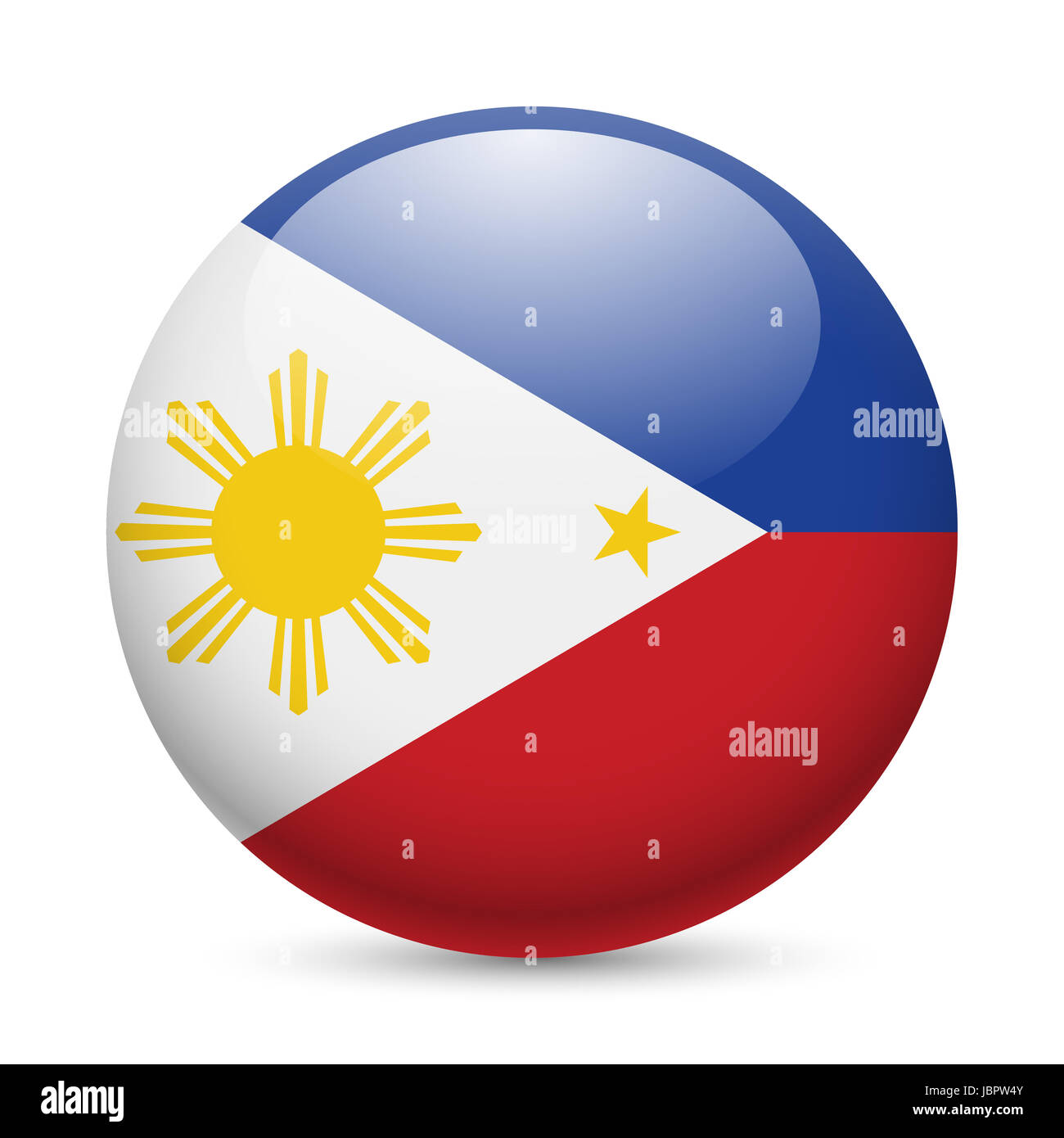 Flag of philippines as round glossy icon button with filipino flag of philippines as round glossy icon button with filipino flag buycottarizona Images