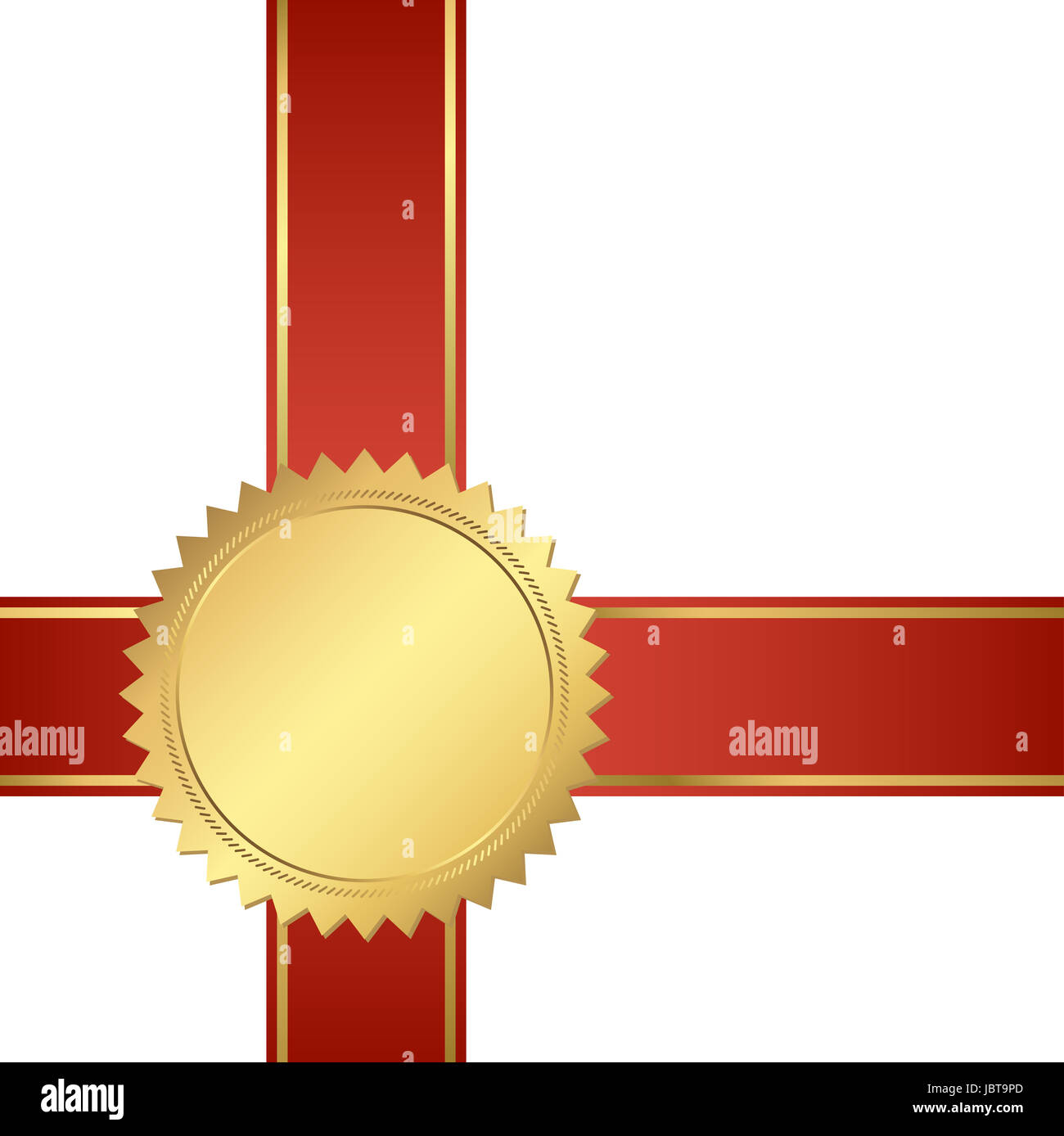 seal of quality template with ribbons Stock Photo, Royalty Free ...