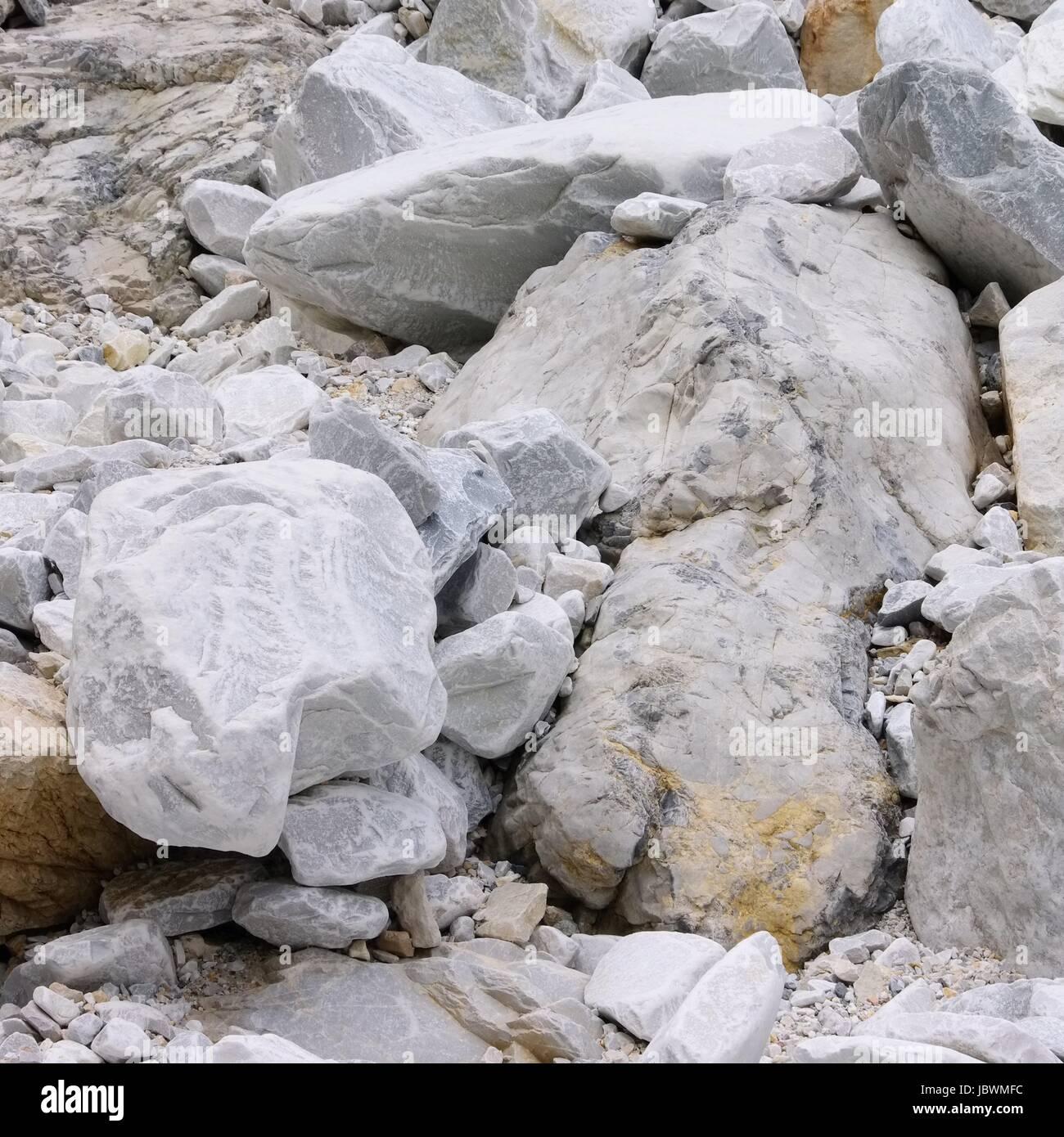 Carrara Marmor carrara marmor steinbruch carrara marble pit 32 stock photo