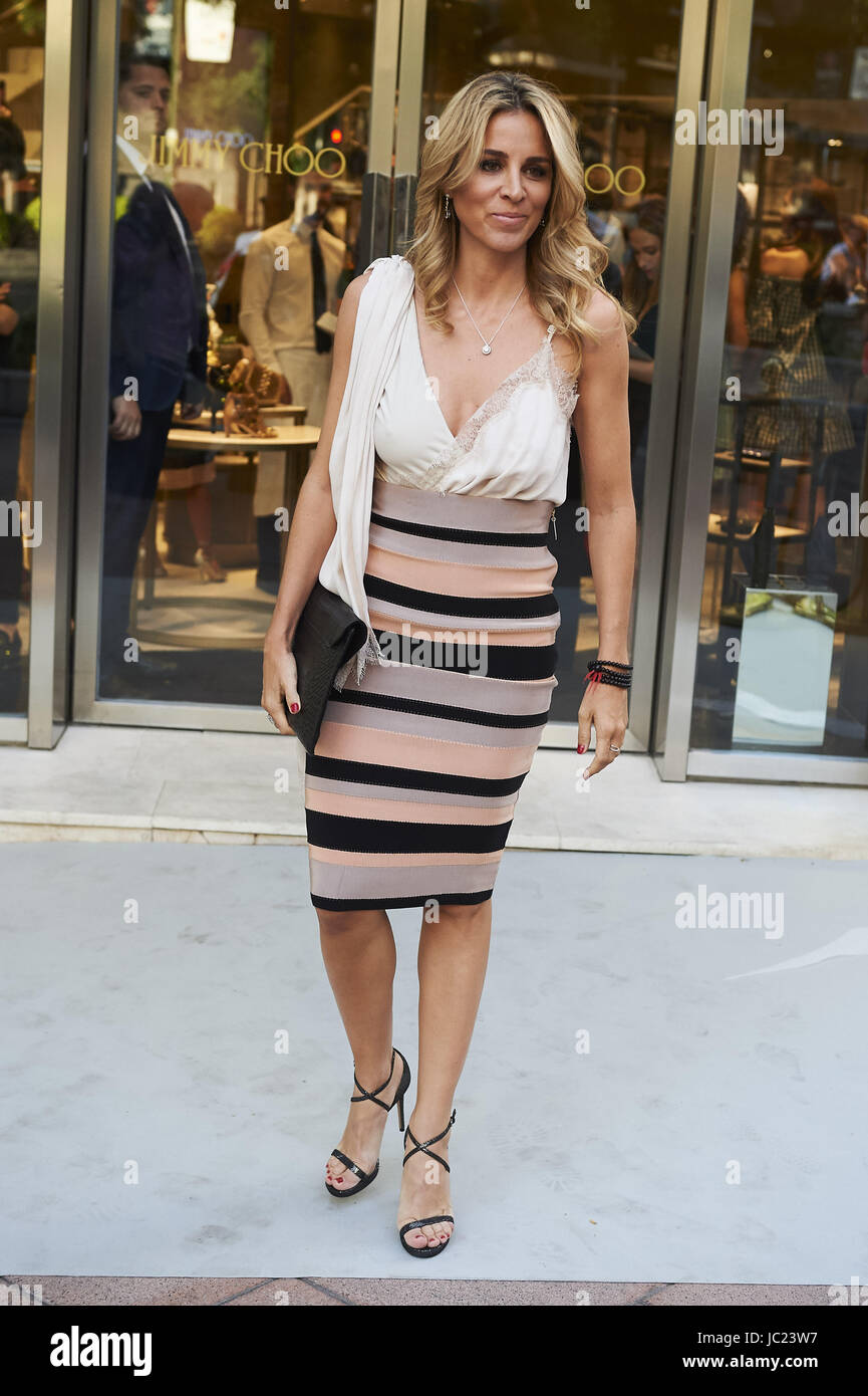 Madrid Spain Th June  Alejandra Silva Attended The Reopening Of Jimmy