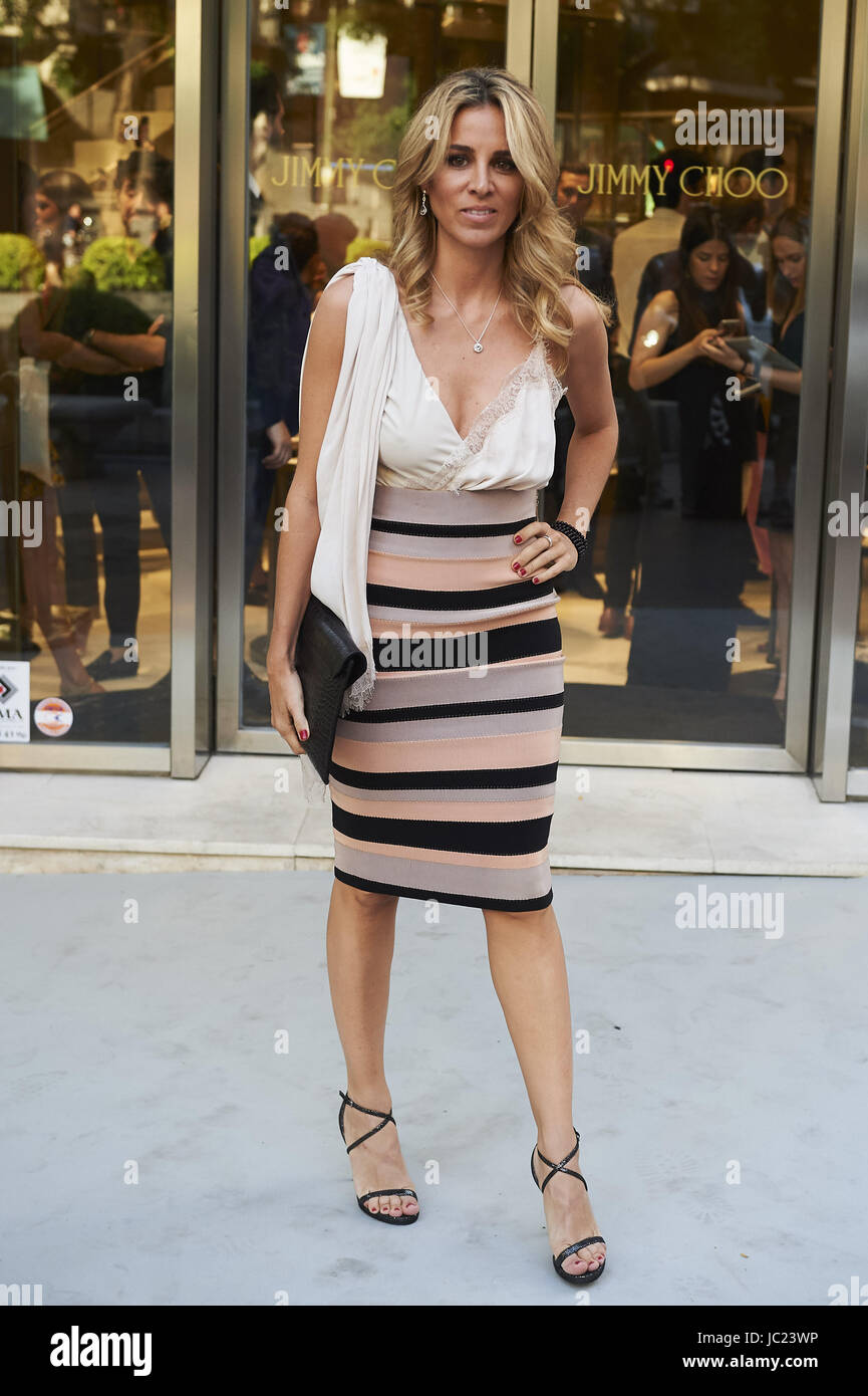 Alejandra Silva Attended The Reopening Of Jimmy Choo Store In Madrid On June   Credit Jack Abuin Zuma Wire Alamy Live News