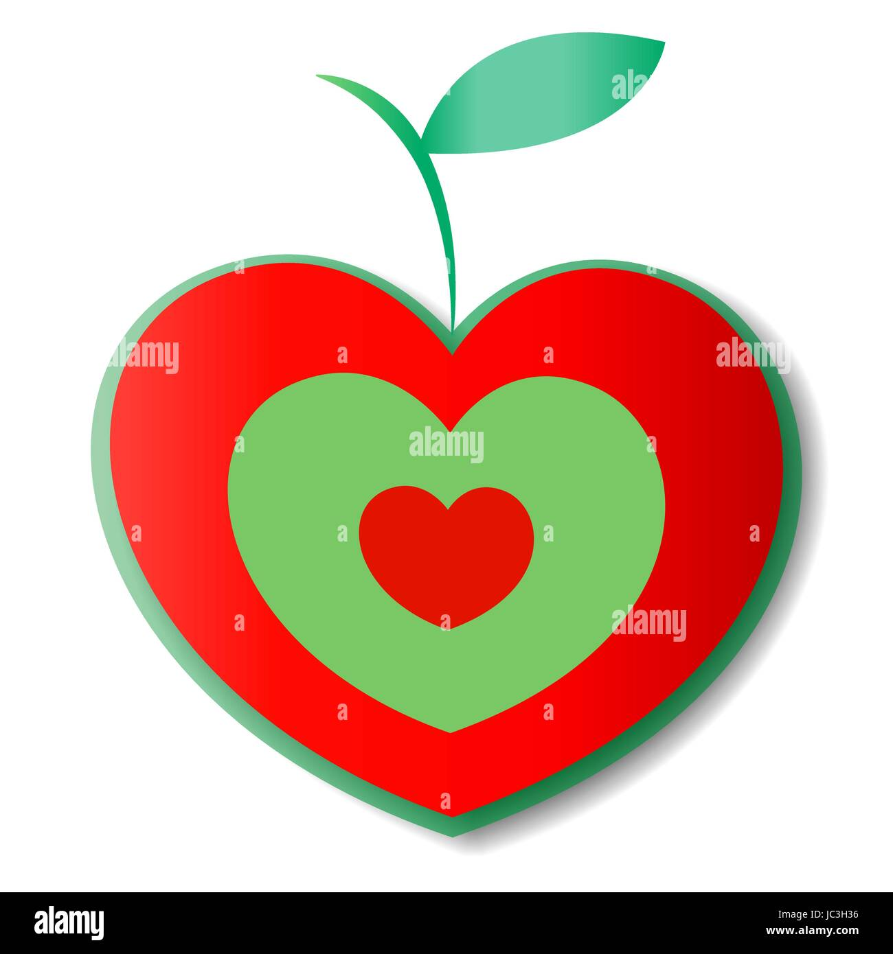 Natural apple logo heart isolated on white love symbol target natural apple logo heart isolated on white love symbol target buycottarizona Image collections