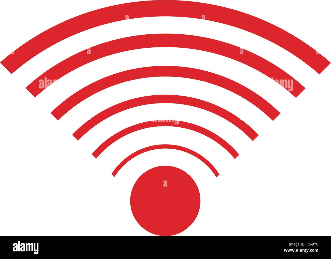 Wifi internet signal connection icon stock vector art wifi internet signal connection icon buycottarizona Images