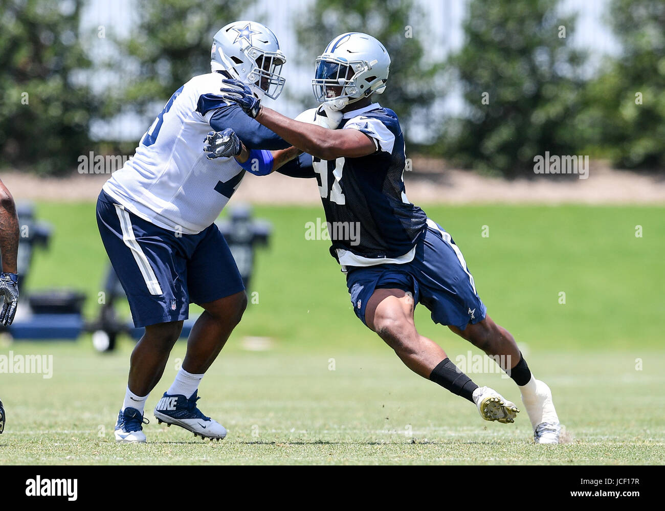 4e928a8ca ... Jersey Dallas Cowboys offensive lineman Kadeem Edwards (78) battles  against Dallas Cowboys defensive end Taco .