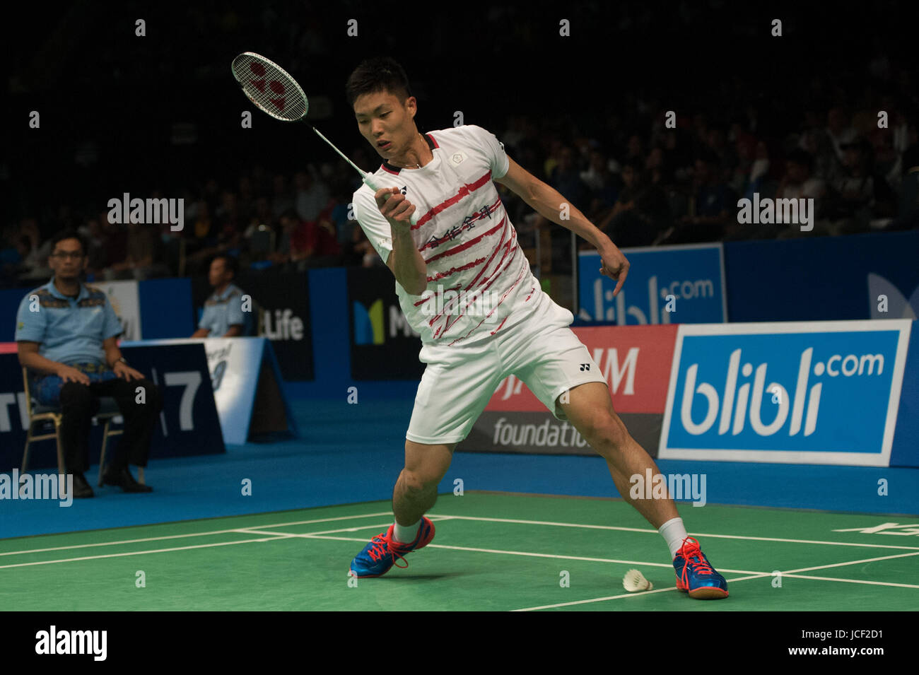 Jakarta Indonesia 15th June 2017 Chou Tien Chen of Chinese