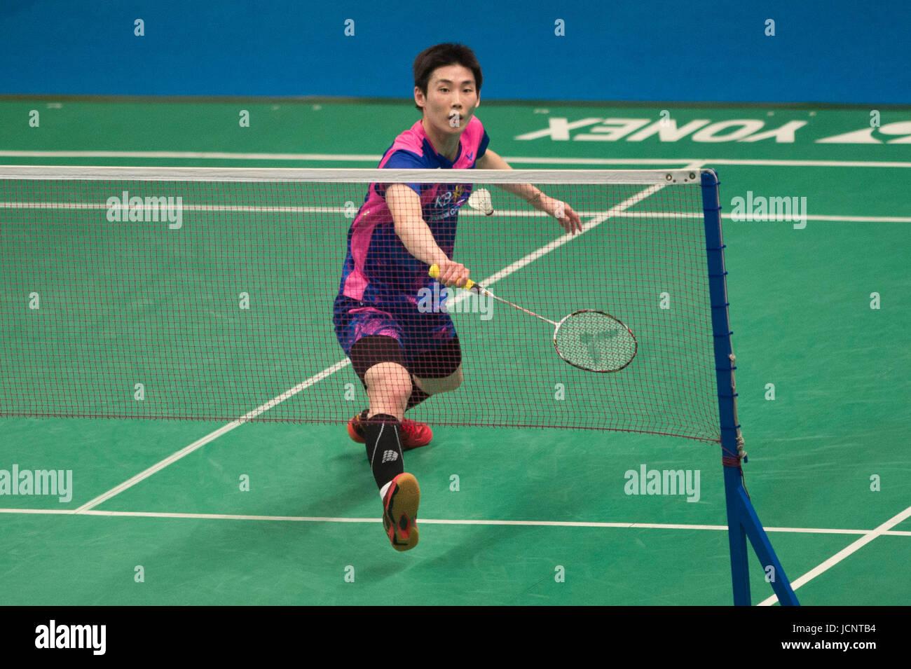 Jakarta Indonesia 16th June 2017 Son Wan Ho of South Korea