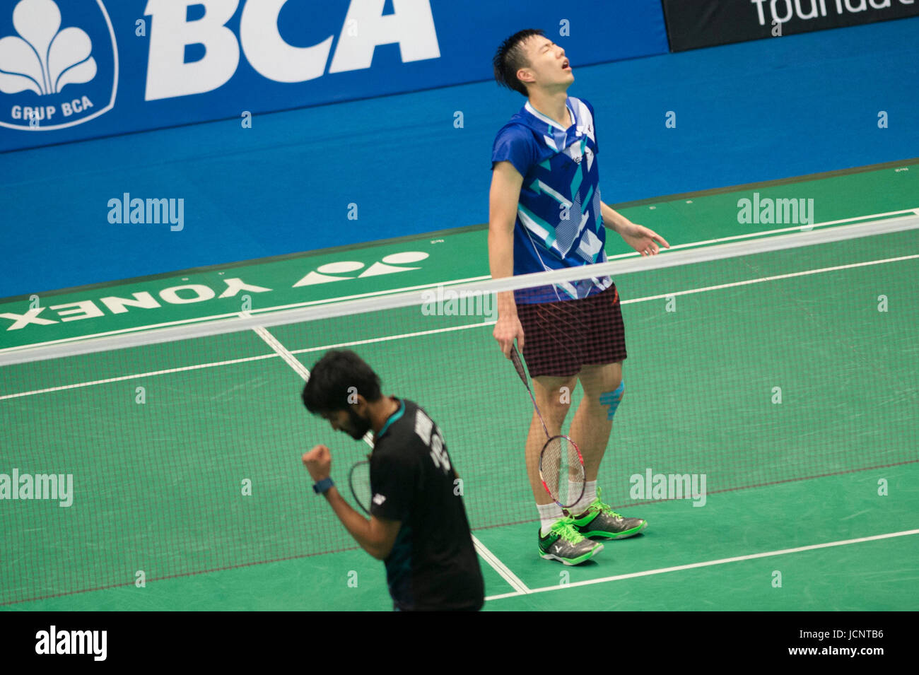 Jakarta Indonesia 16th June 2017 Tzu Wei Wang of Chinese