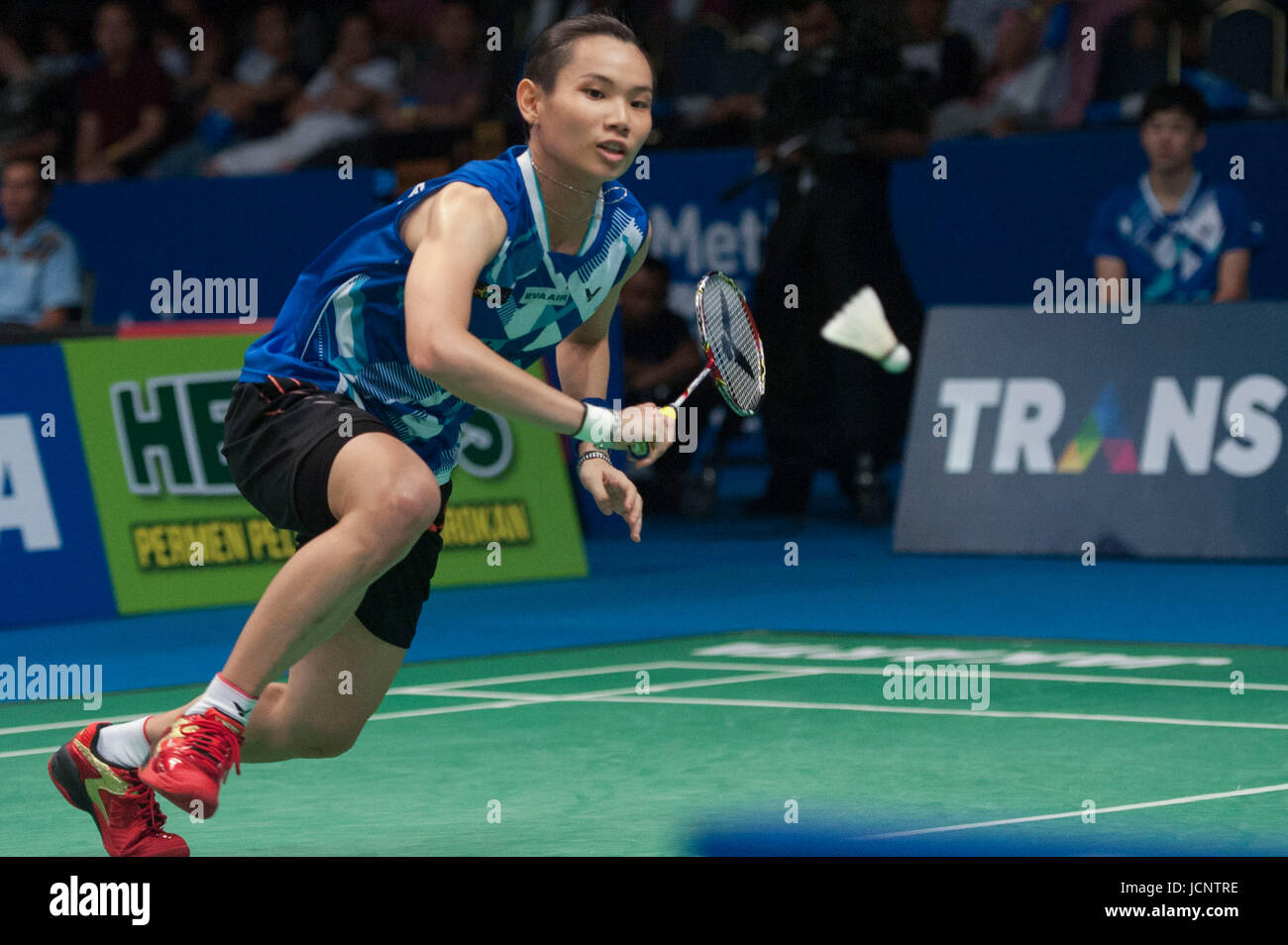 Jakarta Indonesia 16th June 2017 Tai Tzu Ying of Chinese