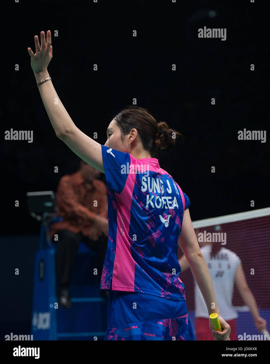 Jakarta Indonesia 17th June 2017 Sung Ji Hyun of South Korea