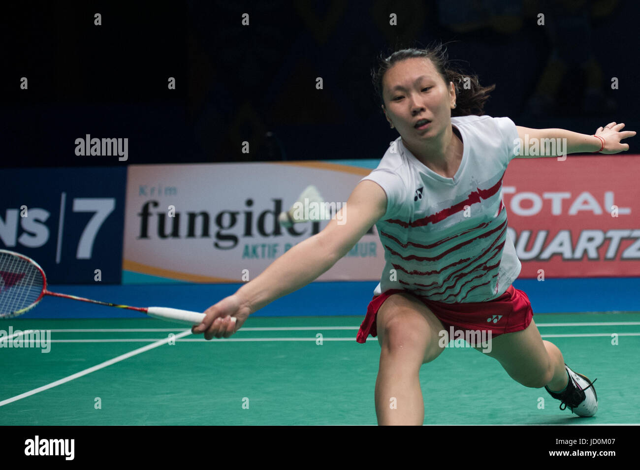 Jakarta Indonesia 17th June 2017 Zhang Beiwen of the United
