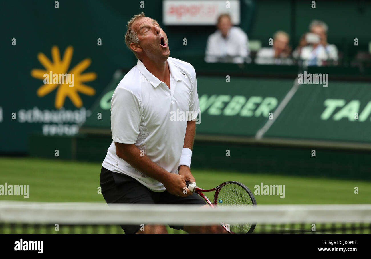 Halle Germany 17th June 2017 Thomas Muster of Austria during