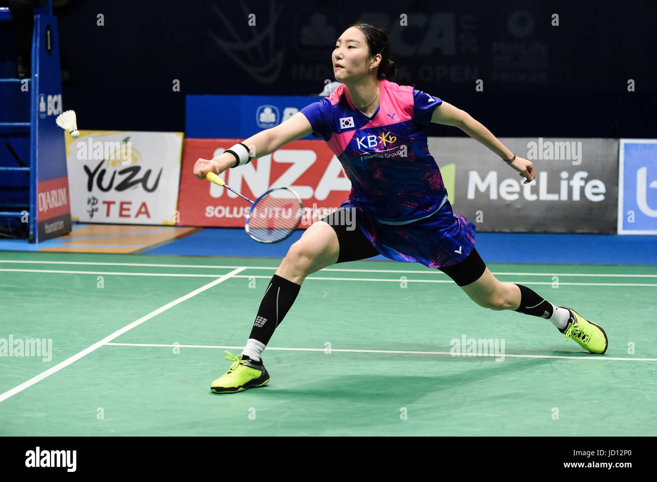 Jakarta Indonesia 18th June 2017 Sung Ji Hyun of South Korea