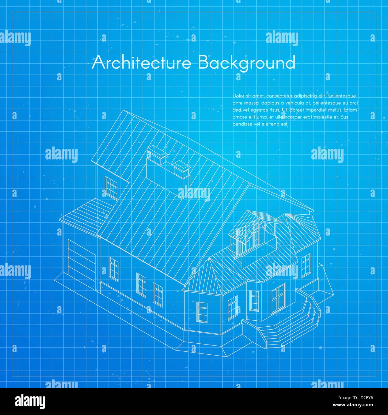 Vector illustration of city building blueprint architectural vector illustration of city building blueprint architectural background or project malvernweather Images