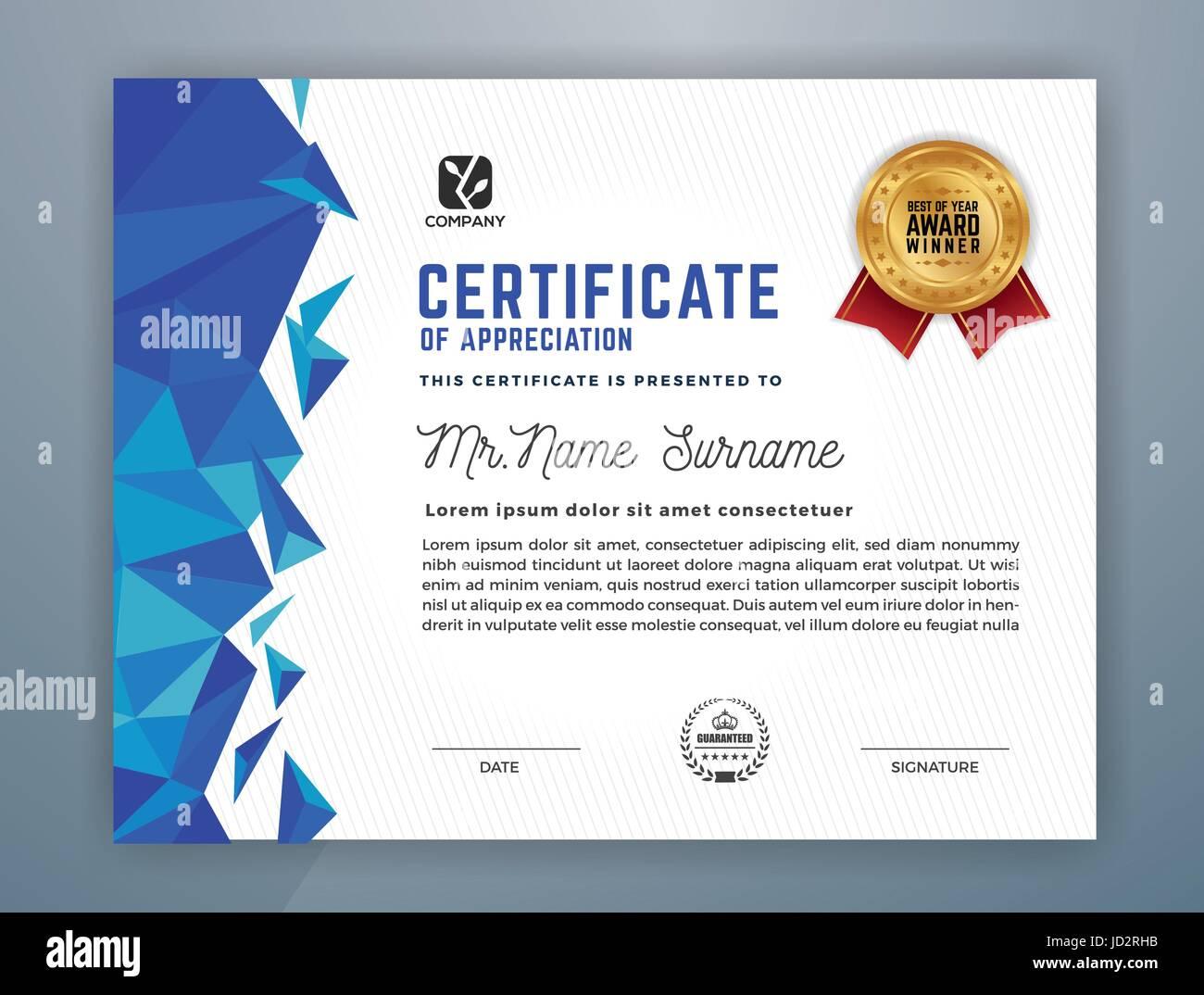 Multipurpose modern professional certificate template design for multipurpose modern professional certificate template design for print vector illustration 1betcityfo Gallery