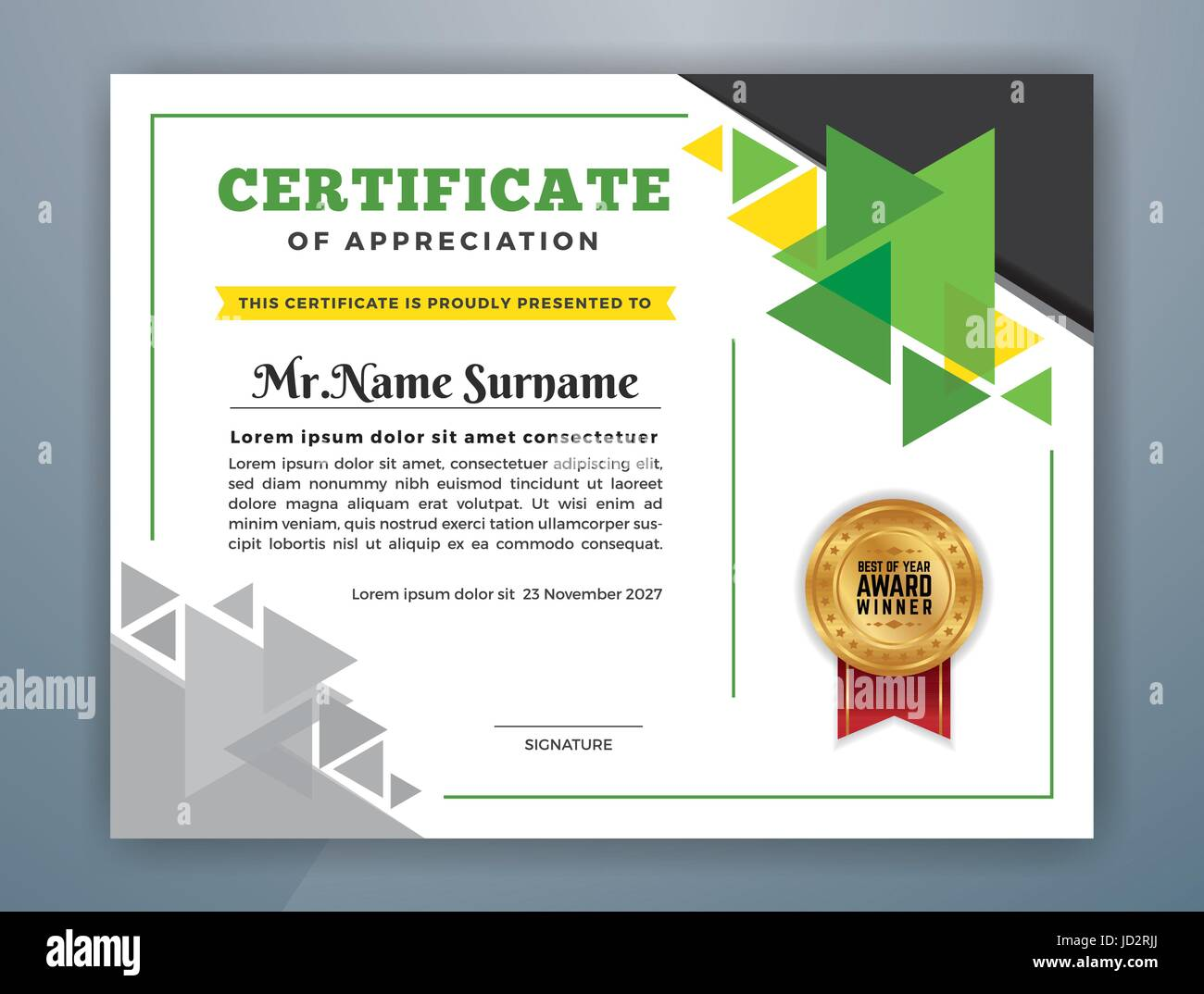 Customize 25 Professional Certificate Templates Online Oukasfo