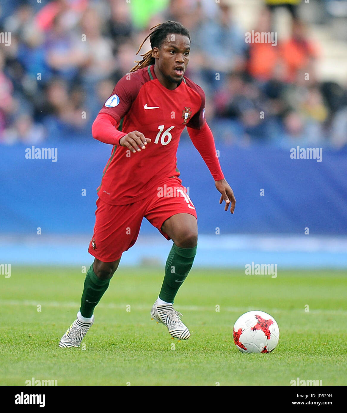 Renato Sanches during the UEFA European Under 21 match between