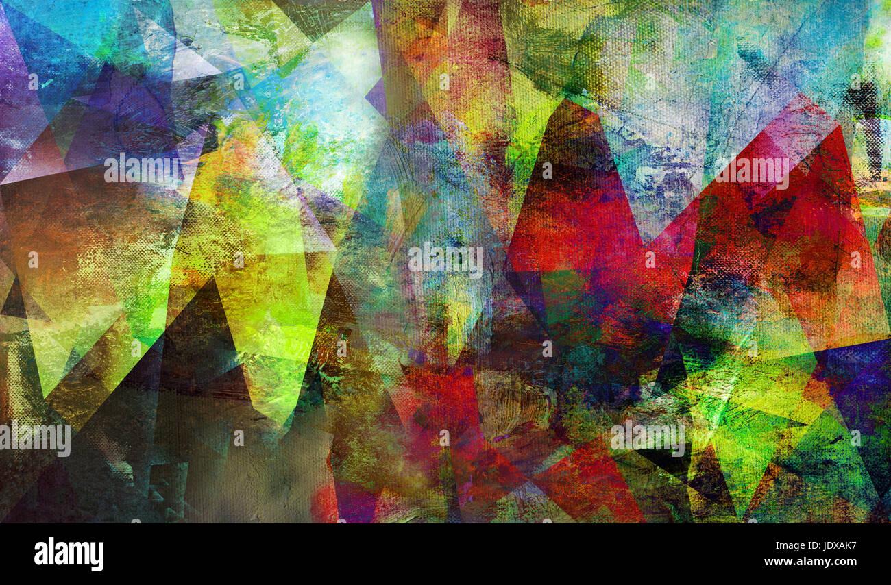 Handgemalte Bilder abstrakte handgemalte texturen auf leinwand stock photo 146252603