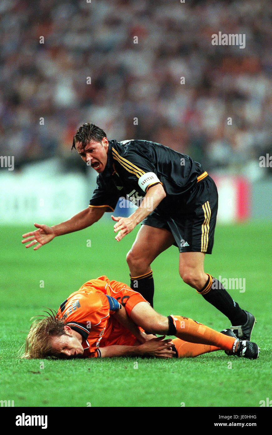 FERNANDO REDONDO & MENDIETA REAL MADRID V VALENCIA 24 May 2000