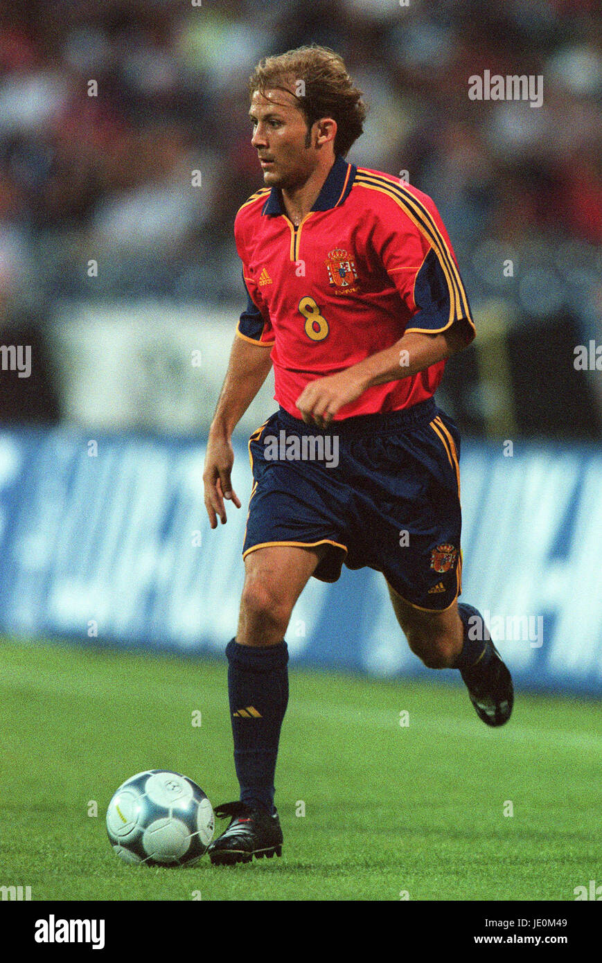 GAIZKA MENDIETA SPAIN HANNOVER GERMANY 16 August 2000 Stock