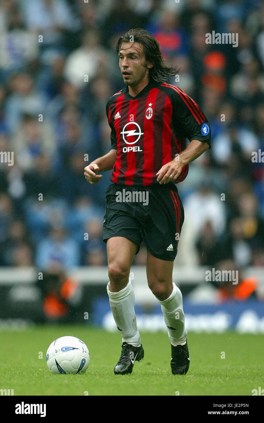 ANDREA PIRLO AC MILAN 27 July 2002 Stock Royalty Free Image