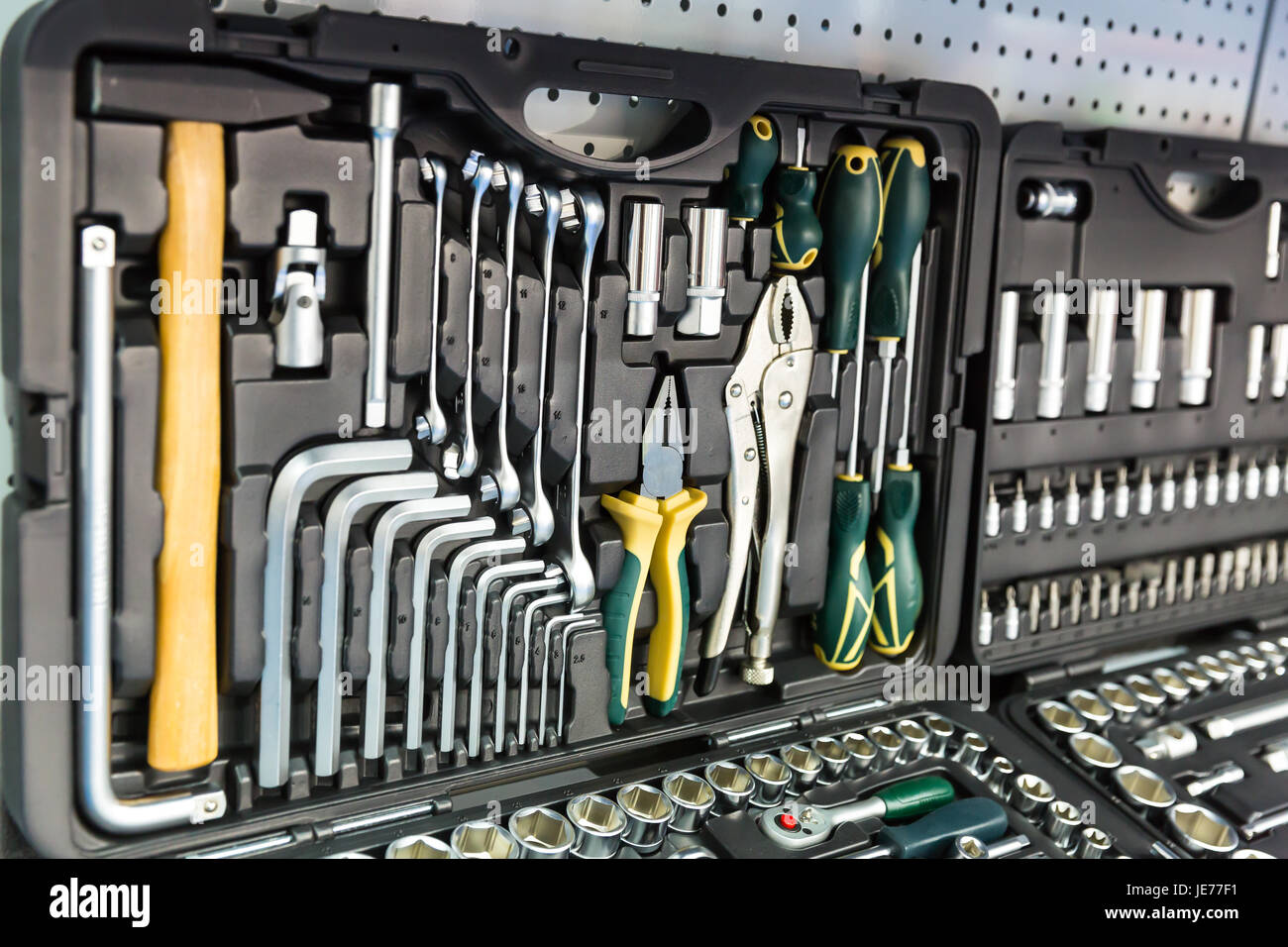 tools and equipment in the galley